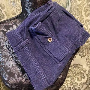 Old Navy Blue Corduroy Shorts, 12